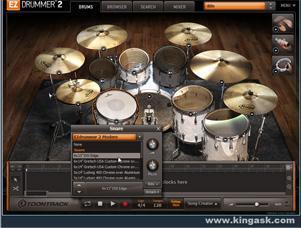 EZdrummer 2 视频教程