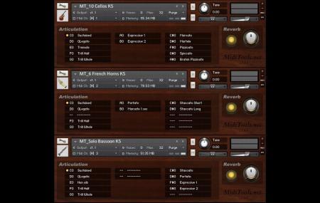 MidiTools KSP系列 - 管弦乐黄金版乐器升级包 v1.0